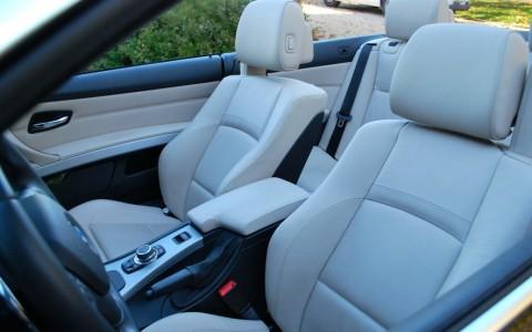 BMW 325d (E93) cabriolet Sport Design Sièges à réglage électrique gonflant avec mémoire conducteur