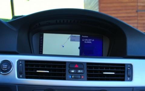 BMW 325d (E93) cabriolet Sport Design Système de navigation GPS 16/9 Europe