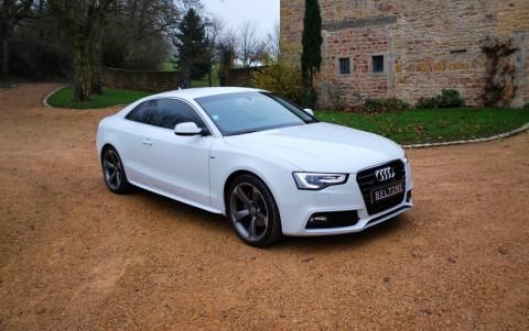 Audi A5 2.0 TFSI Quattro 225 cv Avus Vous habitez loin ? Nous venons vous chercher à la gare ou à l aéroport.