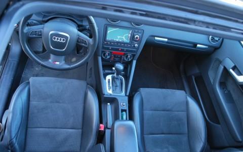 Audi A3 Sportback TDI 140 S-Line Plus Toit ouvrant coulissant / relevable électriquement en verre teinté, pare-soleil réglable et verrouil