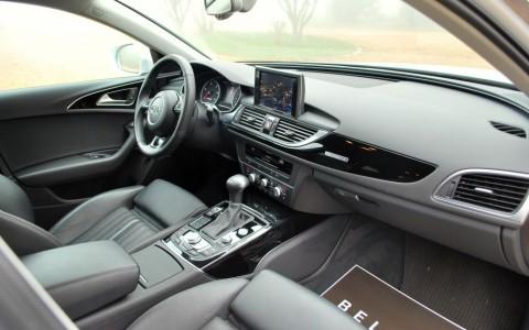 Audi A6 Allroad BiTDI 313cv Avus Quattro  5TL - Applications décoratives en piano laqué noir