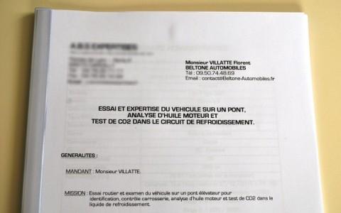 Porsche Boxster S 986 3.2 260 cv Dossier d'expertise complet livré avec le véhicule.