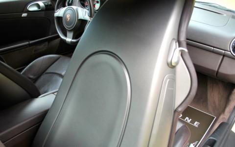 Porsche Cayman S 3.4 320cv PDK P77 : Sièges Sport en cuir et intérieur tout cuir (ITC)
