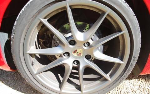 Porsche Boxster 981 2.7 265cv PDK Jantes Carrera S 20 pouces teintées couleur Platine.