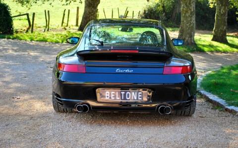 Porsche 996 Turbo 3.6 420cv X54 : Double sorties d'échappement en acier spécial