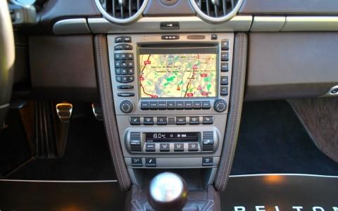 Porsche Boxster 987 3.2 S 280cv P16 : Porsche communication management (PCM navigation)