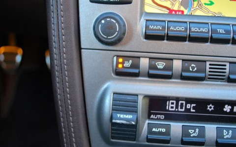 Porsche Boxster 987 3.2 S 280cv 342 : Sièges chauffant
