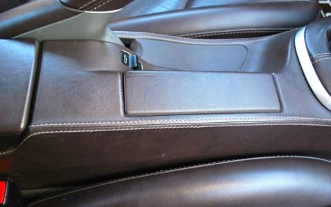 Porsche Boxster 987 3.2 S 280cv XMZ : Console centrale arrière en cuir