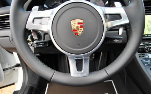 Porsche 991 3.8 GTS 430cv PDK Volant SportDesign en cuir lisse (avec palettes de changement de vitesse)