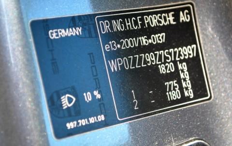 Porsche 997 Carrera S 3.8 355cv WP0ZZZ99Z7S723997