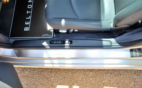 Porsche 997 Targa 4 3.6 325cv X70 : Seuil de portes en acier spécial