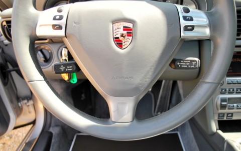 Porsche 997 Targa 4 3.6 325cv 431 / 991 : Volant multifonctions en cuir lisse avec Airbag