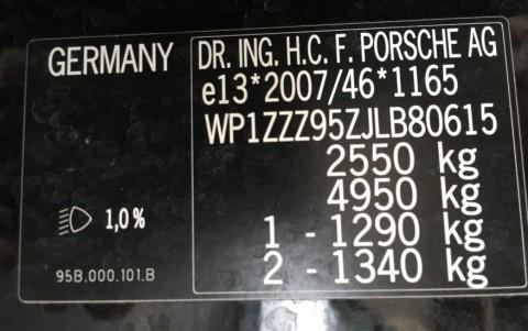 Porsche Macan Turbo Pack Performance WP1ZZZ95ZJLB80615