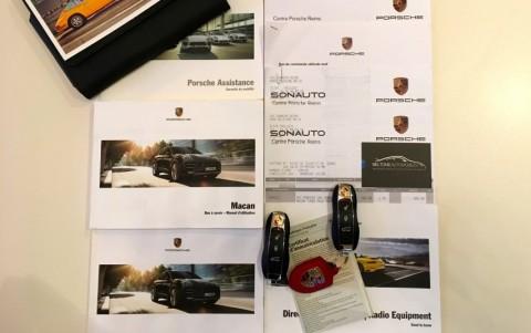 Porsche Macan Turbo Pack Performance Véhicule avec suivi d'entretien et justificatifs.
