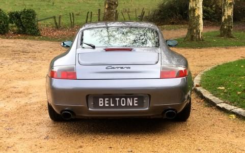 Porsche 996 Carrera 3.4 300cv X54 : Sortie d'échappement en acier spécial