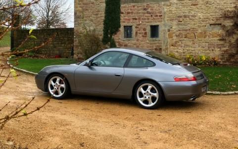Porsche 996 Carrera 3.4 300cv 413 : Jantes 18 Turbo Look (I)