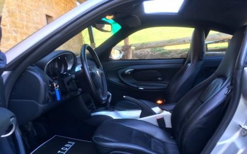 Porsche 996 Turbo 3.6 420cv Console centrale arrière Gris Arctique
