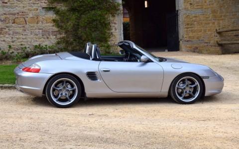 Porsche Boxster S 550 Spyder 266cv - Chassis abaissé de 10mm