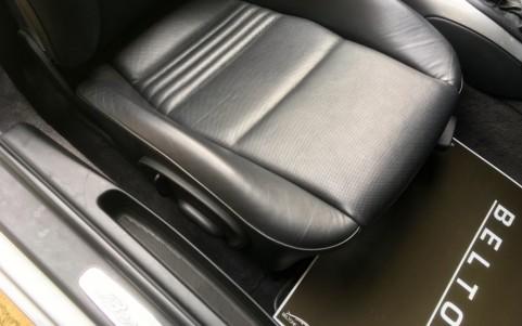 Porsche Boxster S 550 Spyder 266cv Cuir naturel Gris foncé (ITC)