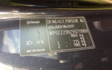 Porsche 997 Carrera S PDK 3.8 385cv WP0ZZZ99Z9S711969