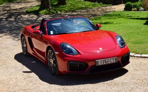 Porsche Boxster GTS PDK LM3C : Peinture exclusive Rouge Carmin