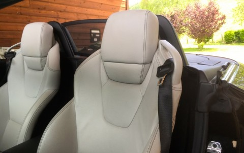Mercedes SLK 200 BlueEfficiency 184cv Sellerie cuir Beige Sahara