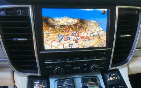 Porsche Panamera Turbo PDK PCM navigation Europe