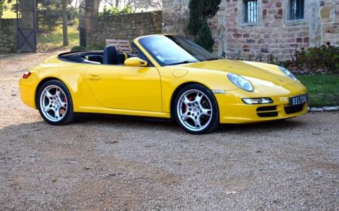 Porsche 997 Carrera 4S Cabriolet 355cv Vous habitez loin de Lyon ? Nous venons vous chercher à la gare ou à l'aéroport.