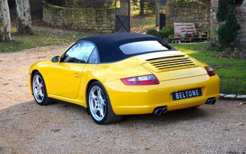 Porsche 997 Carrera 4S Cabriolet 355cv 635 : Assistance Parking Arrière.