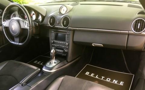 Porsche Boxster S 3.4 310cv PDK 250 : Boîte de vitesse automatique Dopelkupplung (PDK) à 7 rapports avec commutateurs sur le volant