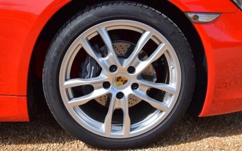 Porsche Cayman 2.7 275cv PDK 400 : Jantes Boxster S (IV) 19 pouces.